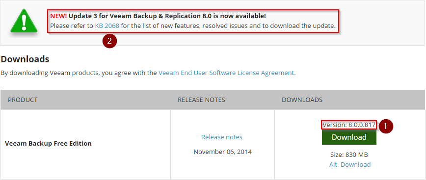 Veeam Backup & Replication 8.0 Download